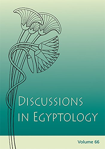 9781842174913: Discussions in Egyptology 65