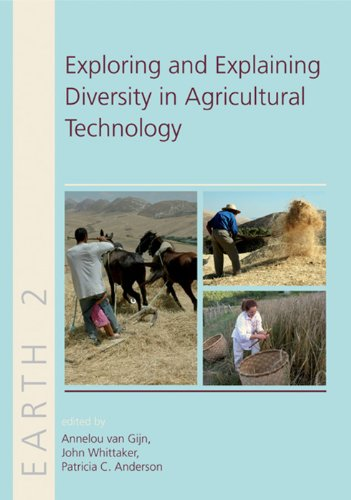 Exploring and Explaining Diversity in Agricultural Technology (Earth): Anderson, Patricia C.; ...