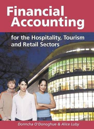 9781842180907: Financial Accounting for the Hospitality, Tourism and Retail Sectors