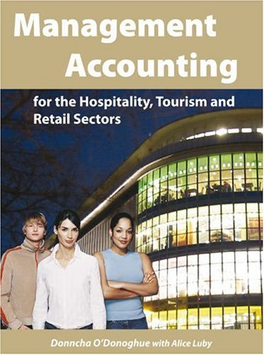 9781842181140: Management Accounting for the Hospitality, Tourism and Retail Sectors
