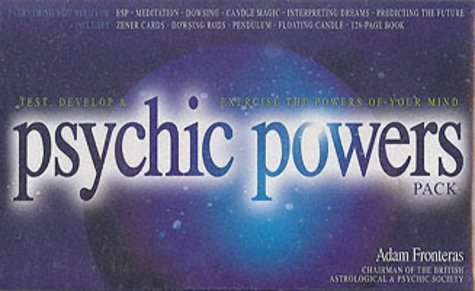 9781842223116: The Psychic Powers Pack: Unleash the Ultimate Power of Your Mind