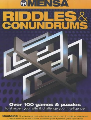 9781842223925: Mensa Riddles & Conundrums Pack