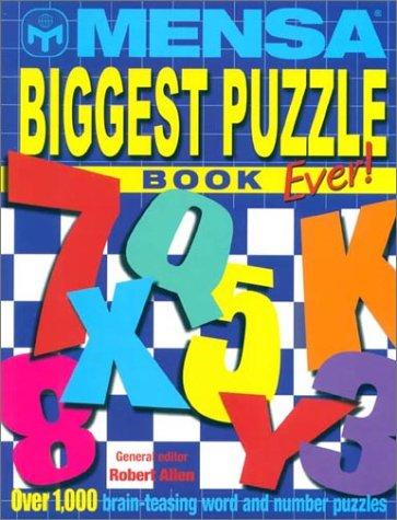 9781842225981: Mensa Biggest Puzzle Book Ever!