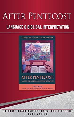 9781842270660: After Pentecost: Language and Biblical Interpretation