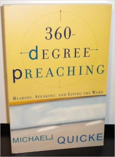 9781842272473: 360 DEGREE PREACHING: Hearing,Speaking and Living the World