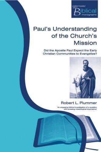 9781842273333: Pauls Understanding of the Churchs Mission (Paternoster Biblical Monographs) (Paternoster Biblical Monographs)