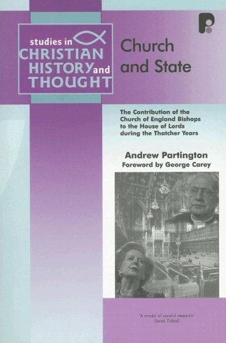 Church and state: the contribution of the: PARTINGTON A