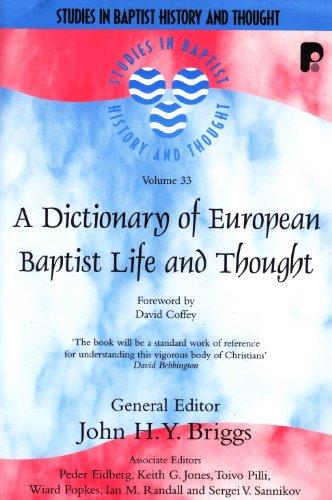 Dictionary of European Baptist Life an
