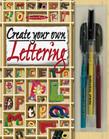 9781842292501: Create Your Own Lettering (Art Studio Design Books)