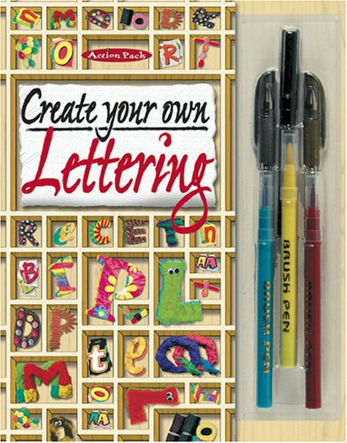 9781842295755: Create Your Own Lettering (Action Packs)