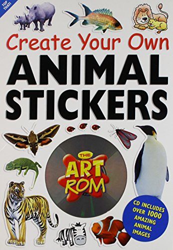 9781842297360: Animals Stickers (Art ROM Create Your Own...)