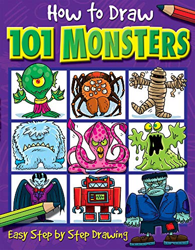 9781842297421: Ht Draw 101 Monsters (How to Draw)