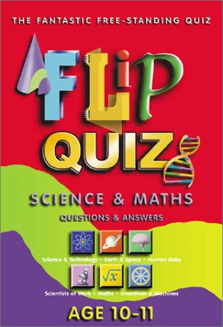 Flip Quiz Science and Maths: Age 10-11: Connolly, Sean