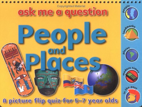 9781842361269: People and Places: Ask Me a Question: A Picture Flip Quiz for 5-7 Year Olds (Ask Me a Question)