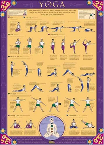 9781842361818: Yoga Poster