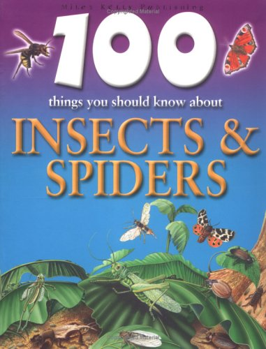 9781842363492: 100 Things You Should Know About Insects and Spiders