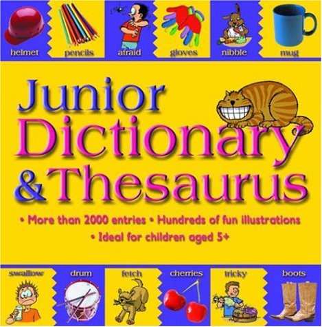 9781842364451: Junior Dictionary and Thesaurus