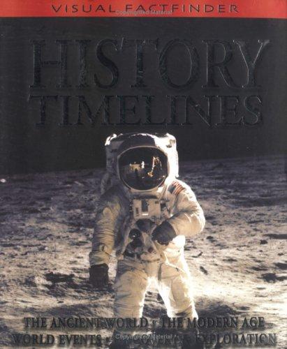 9781842365403: History Timelines (Visual Factfinder)