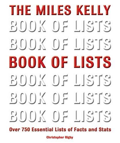 9781842366226: Book of Lists: Over 500 Lists of Facts, Stats and Trivia (Visual Factfinder S.)