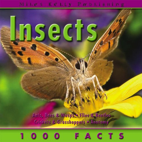 9781842369388: 1000 Facts - Insects (1000 Facts on...)