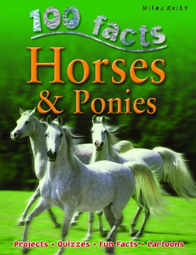 9781842369852: 100 Facts - Horses & Ponies