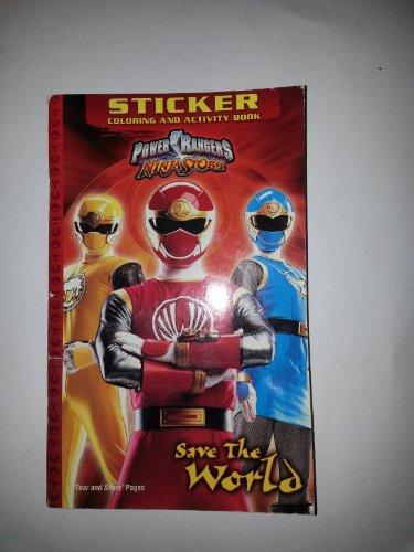 9781842394458: Power Rangers Ninja Storm Sticker Book.