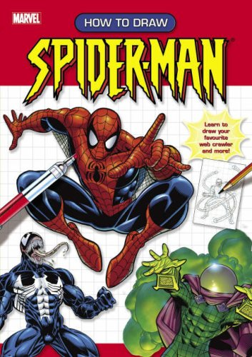 9781842395264: How to Draw Spider-Man: Learn to Draw Your Favourite Web Crawler and More!