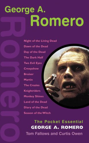 9781842432822: George A. Romero (Pocket Essentials)