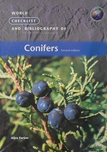 9781842460252: World Checklist and Bibliography of Conifers (Second Edition)