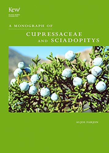9781842460689: Monograph of Cupressaceae and Sciadopitys