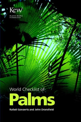 World Checklist of Palms: Govaerts, R.; Dransfield,