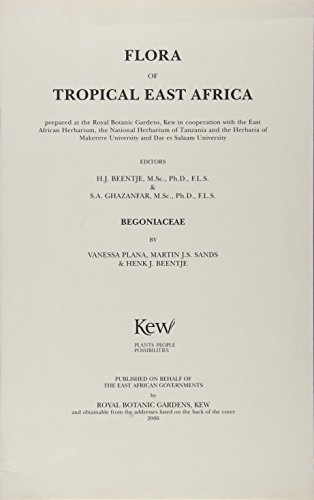 Flora of Tropical East Africa (Paperback): Henk J. Beentje
