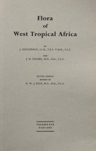 9781842463291: Flora of West Tropical Africa Vol. 1, Part 1: Cycadaceae - Guttiferae