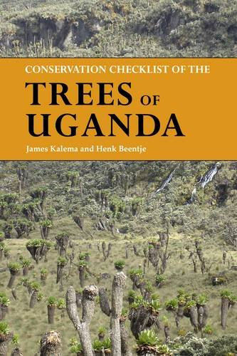 9781842463772: Conservation Checklist of the Trees of Uganda