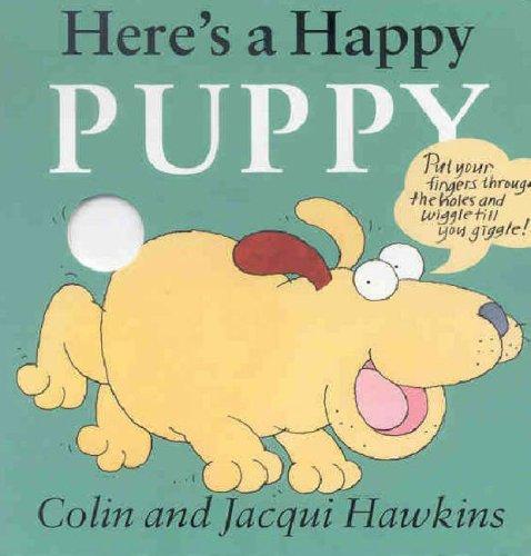 9781842480762: Here's a Happy Puppy (Fingerwiggle Board Books S.)