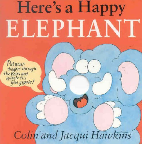 9781842480779: Here's a Happy Elephant (Fingerwiggle Board Books)