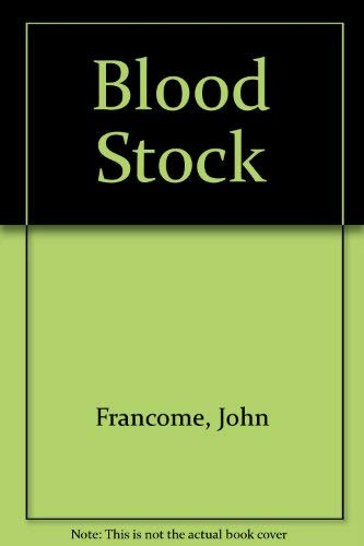 9781842620656: Blood Stock