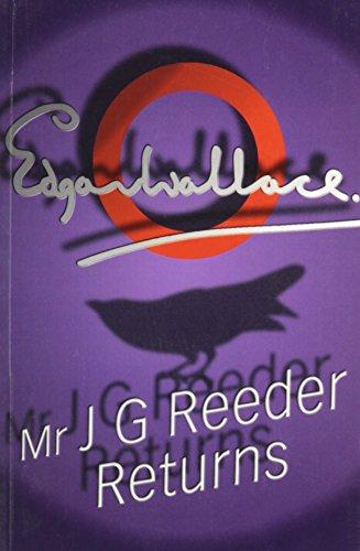 9781842623145: Mr. J. G. Reeder Returns (Dales Mystery)