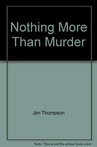 9781842624968: Nothing More Than Murder