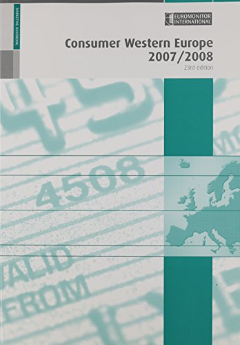 Consumer Western Europe, 23rd Ed.: Editor