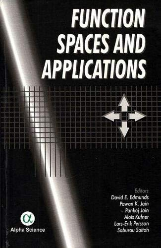 9781842650028: Function Spaces And Applications