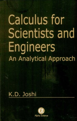 9781842650486: Calculus for Scientists And Engineers: An Analytical Approach