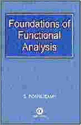 9781842650790: Foundations of Functional Analysis