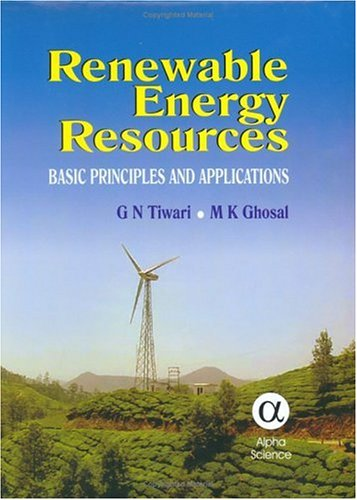 9781842651254: Renewable Energy Resources: Basic Principles and Applications