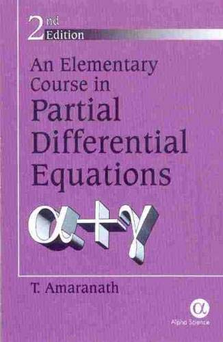 9781842651568: An Elementary Course in Partial Differential Equations 2nd Edition