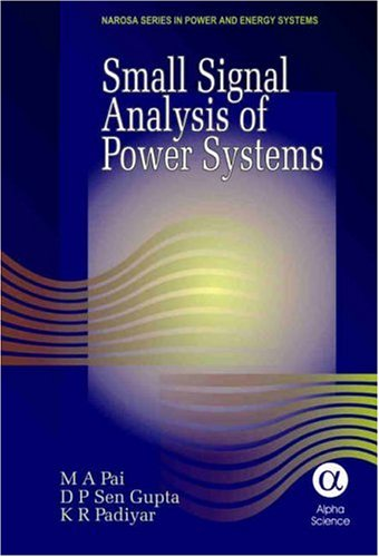 9781842652060: Small Signal Analysis of Power Systems