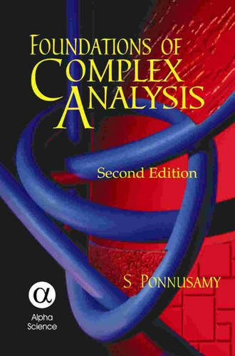 9781842652237: Foundations of Complex Analysis