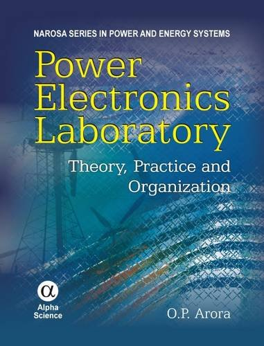9781842653012: Power Electronics Laboratory: Theory, Practice & Organization (Narosa Series in Power and Energy Systems)