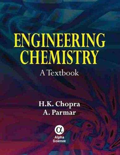 9781842653623: Engineering Chemistry: A Textbook