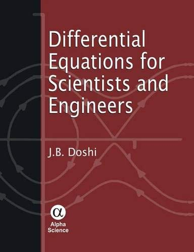 9781842653661: Differential Equations for Scientists and Engineers